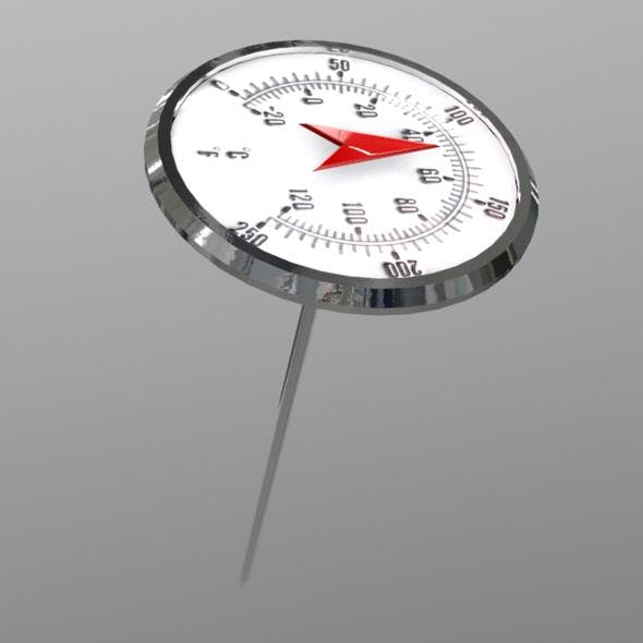 Thermometer - 3DOcean Item for Sale