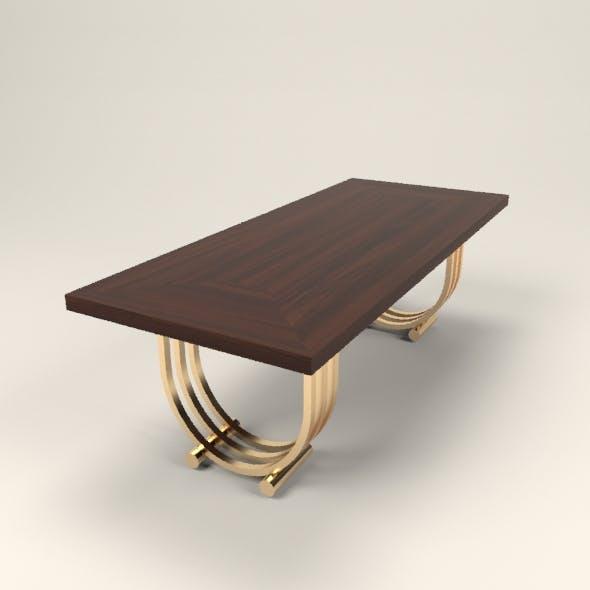 art deco table - 3DOcean Item for Sale