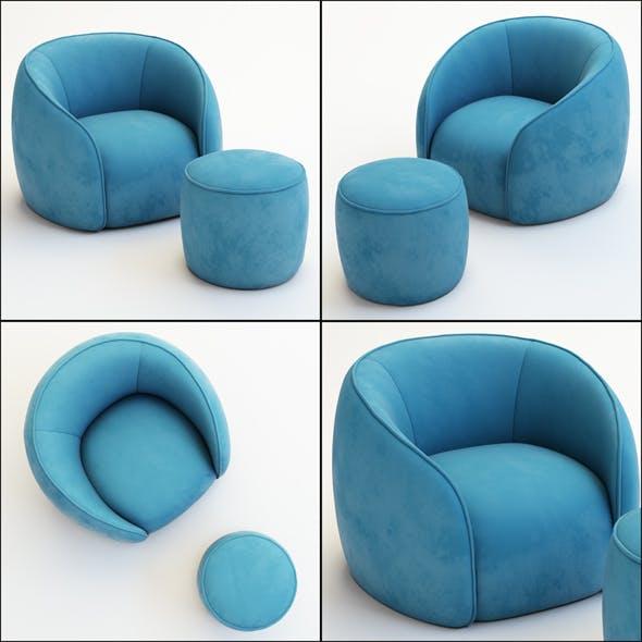 Armchair Baloo - 3DOcean Item for Sale