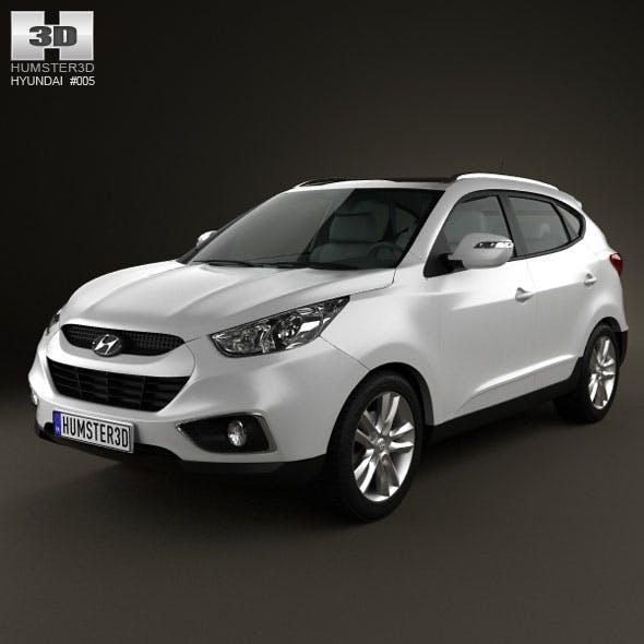 Hyundai ix35 - 3DOcean Item for Sale