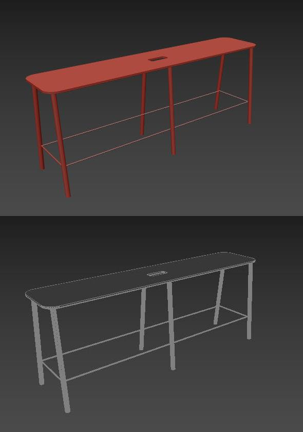 Adam Bench - 3DOcean Item for Sale