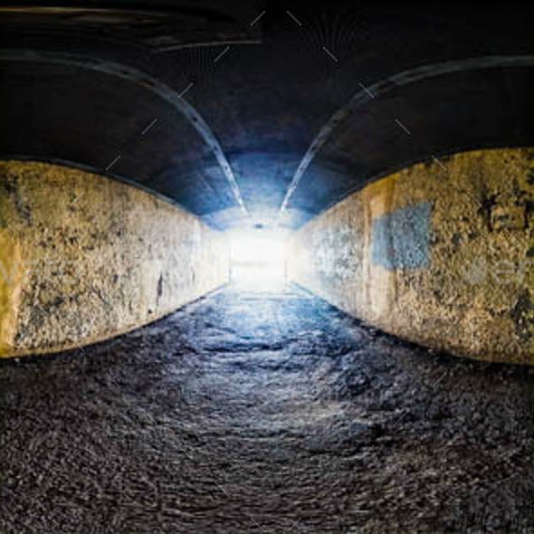 Realistic HDRI Environment - City Tunnel