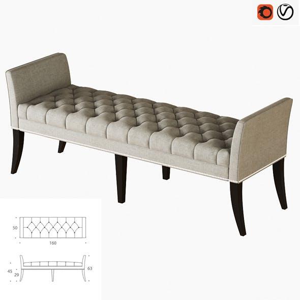 Ottoman Deena - 3DOcean Item for Sale