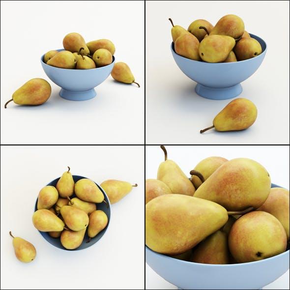 Pears in the Vase - 3DOcean Item for Sale