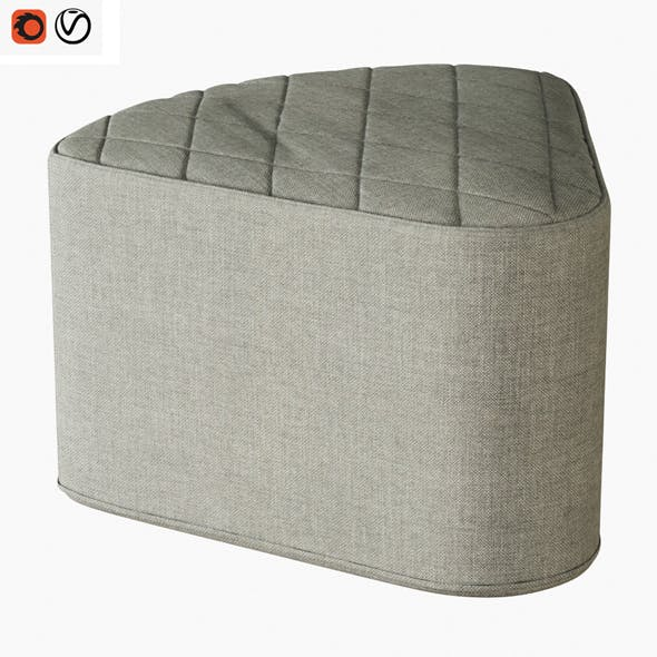Pouf Aia - 3DOcean Item for Sale