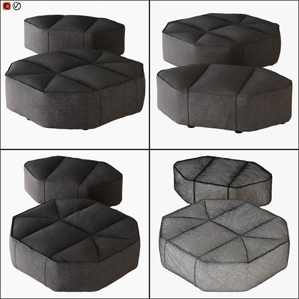 Pouf Cloud - 3DOcean Item for Sale