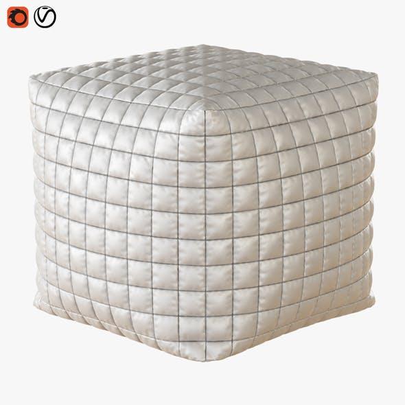 Pouf Cube - 3DOcean Item for Sale
