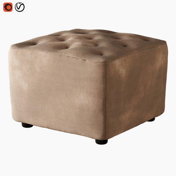 Pouf Ditre Eclectico - 3DOcean Item for Sale