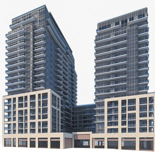 Residential Tower Complex 03
