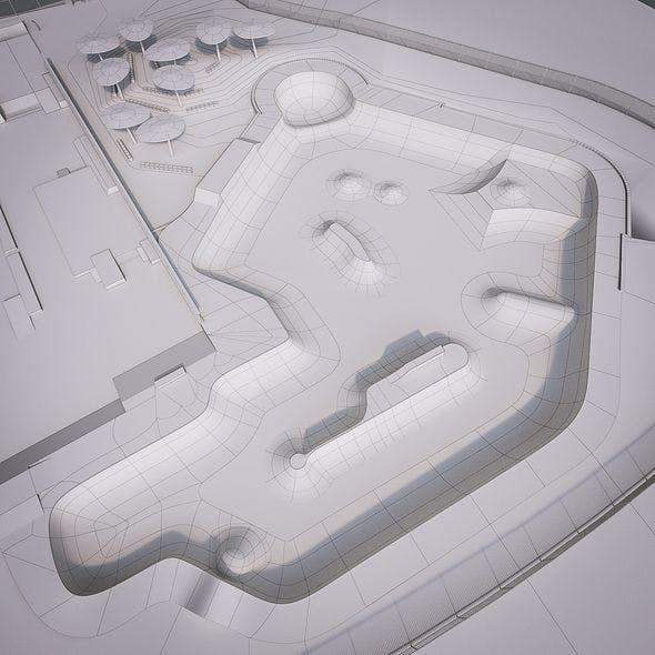 Skate Park - 3DOcean Item for Sale
