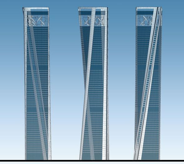 Skyscraper 01 - 3DOcean Item for Sale