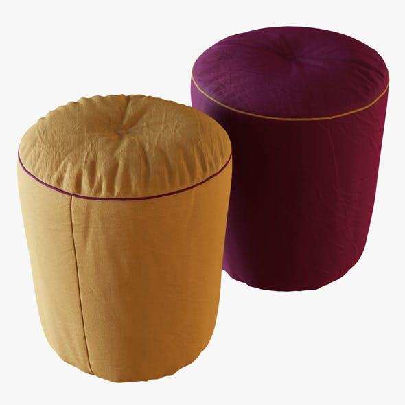 Pouf Drink - 3DOcean Item for Sale