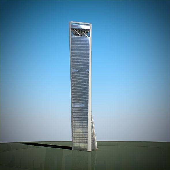 Skyscraper 02 - 3DOcean Item for Sale