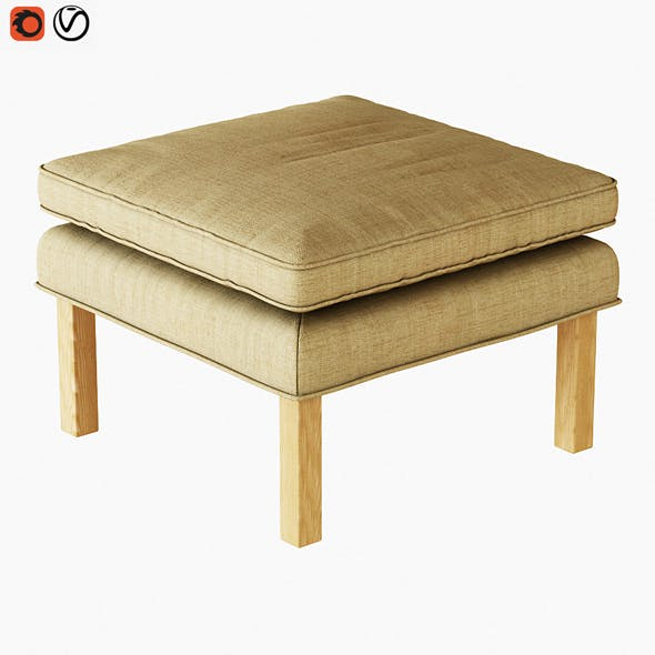 Pouf Fredericia - 3DOcean Item for Sale