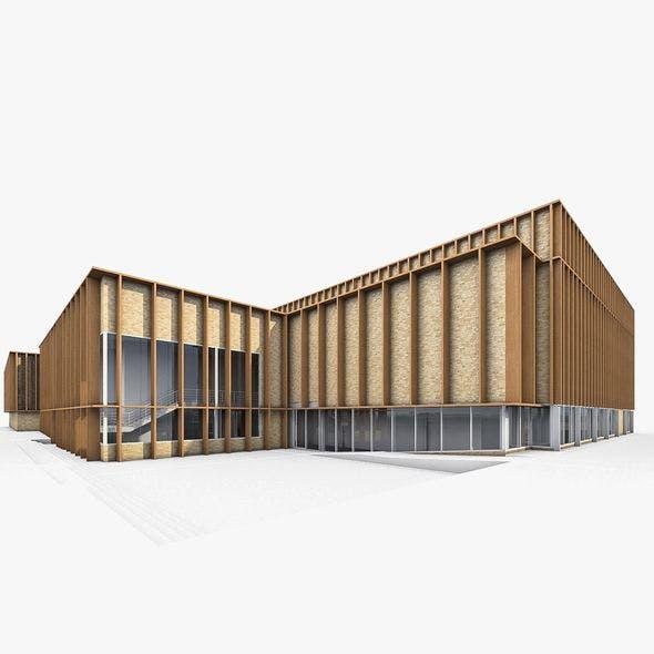 Sports Building 02 - 3DOcean Item for Sale