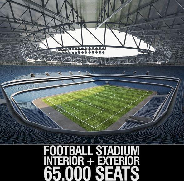 Stadium Luzhniki - 3DOcean Item for Sale