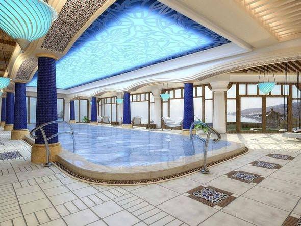 Swimming Pool Interior 02 - 3DOcean Item for Sale