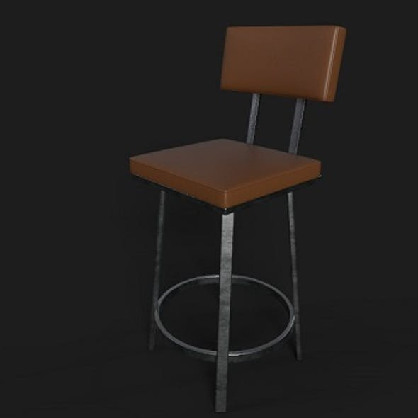 Chair PBR Metal
