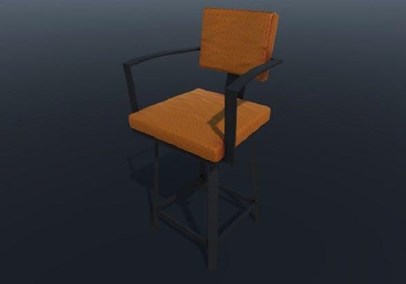 Bar Stool PBR - 3DOcean Item for Sale