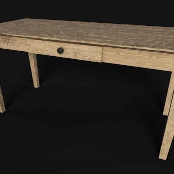 Wooden Table PBR