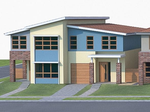 Townhouse 03 - 3DOcean Item for Sale