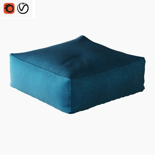 Pouf Pianca Limbo - 3DOcean Item for Sale