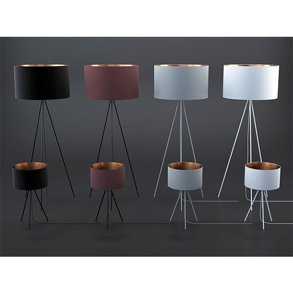 Tris lamps collection