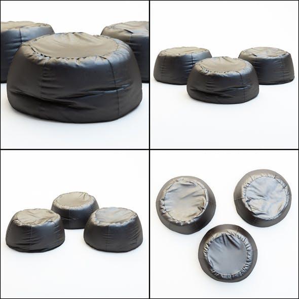 Pouf Urban - 3DOcean Item for Sale