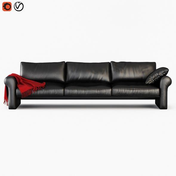 Sofa Boston - 3DOcean Item for Sale