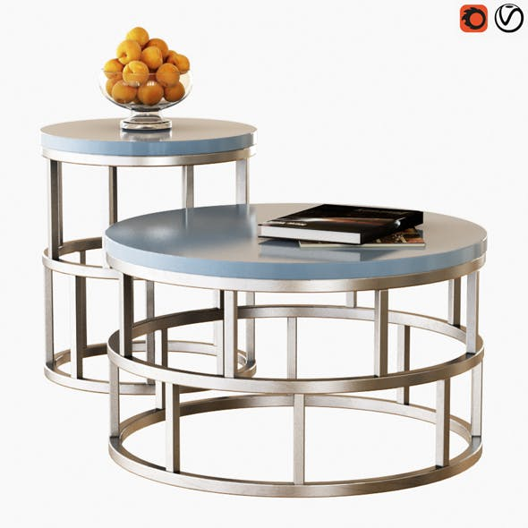 Table Riviera - 3DOcean Item for Sale