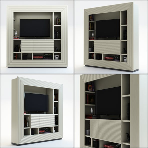 TV Furniture Century - 3DOcean Item for Sale