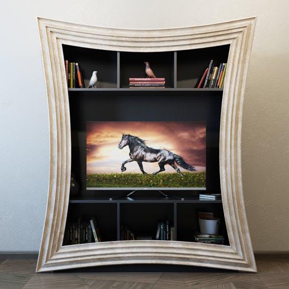 TV Furniture Corniche - 3DOcean Item for Sale