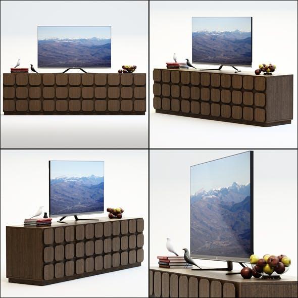TV Furniture Sorrento - 3DOcean Item for Sale