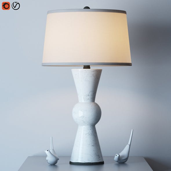 Upbeat table lamp - 3DOcean Item for Sale