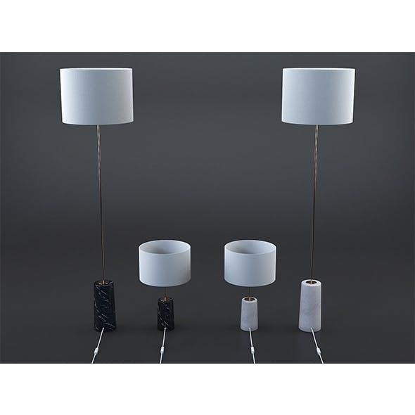 May lamps collection - 3DOcean Item for Sale