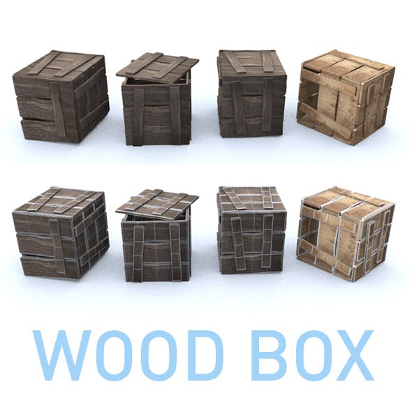 WOOD_BOX - 3DOcean Item for Sale