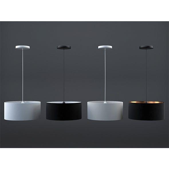 Hue suspension lamp (set of 4) - 3DOcean Item for Sale