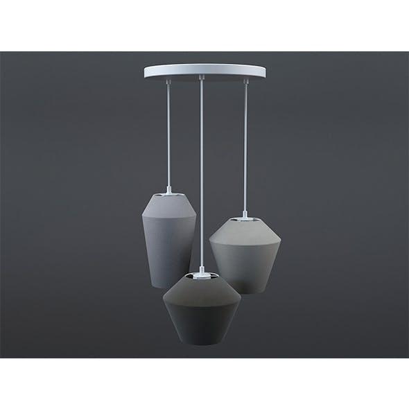 Tuli suspension lamp - 3DOcean Item for Sale