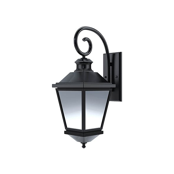 Lantern wall lamp