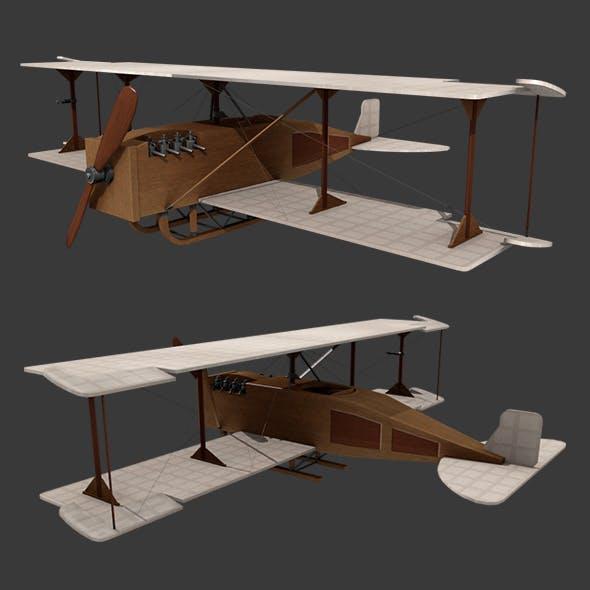 Airplane gyrostabilizer