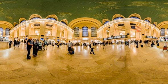 Grand Central Terminal - Interior HDRI Environment - 3DOcean Item for Sale