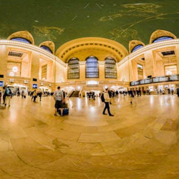 Grand Central Terminal - Interior HDRI Environment
