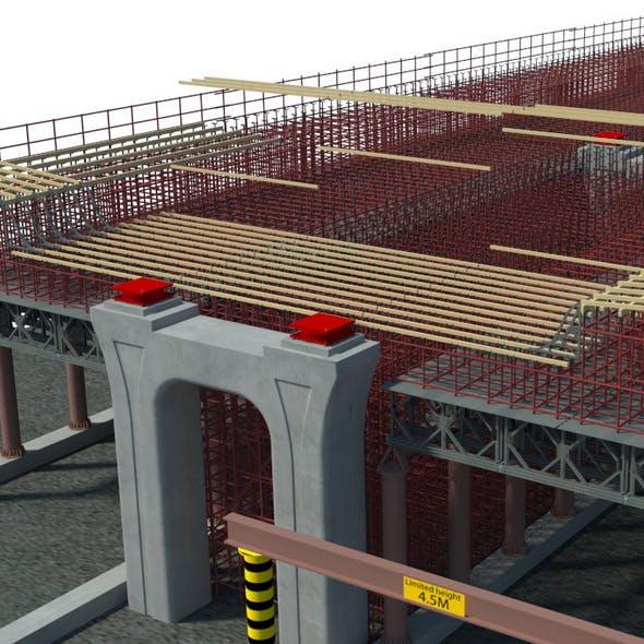 Viaduct construction - 3DOcean Item for Sale