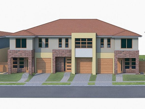 Townhouse 04 - 3DOcean Item for Sale