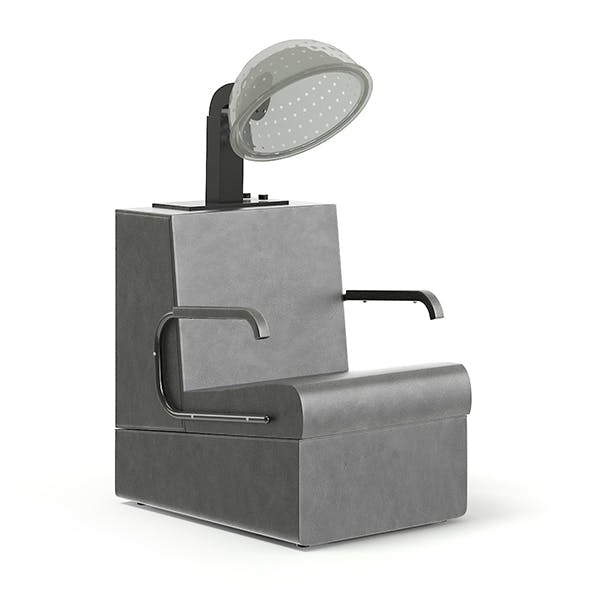 Hairdryer Chair 3D Model - 3DOcean Item for Sale