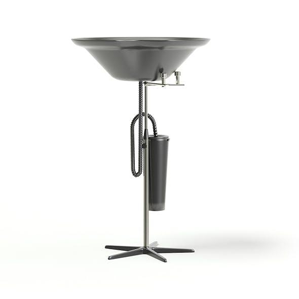 Portable Backwash 3D Model - 3DOcean Item for Sale