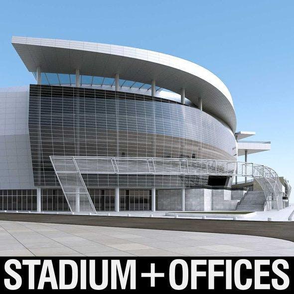 Warriors Arena Stadium - 3DOcean Item for Sale