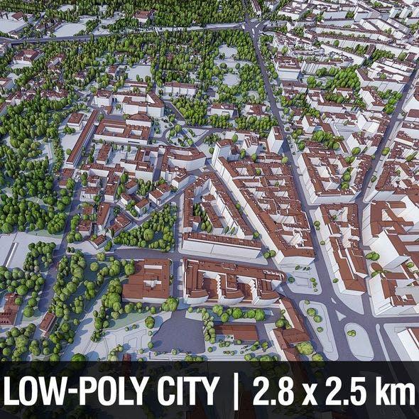 Warsaw City Center - 3DOcean Item for Sale