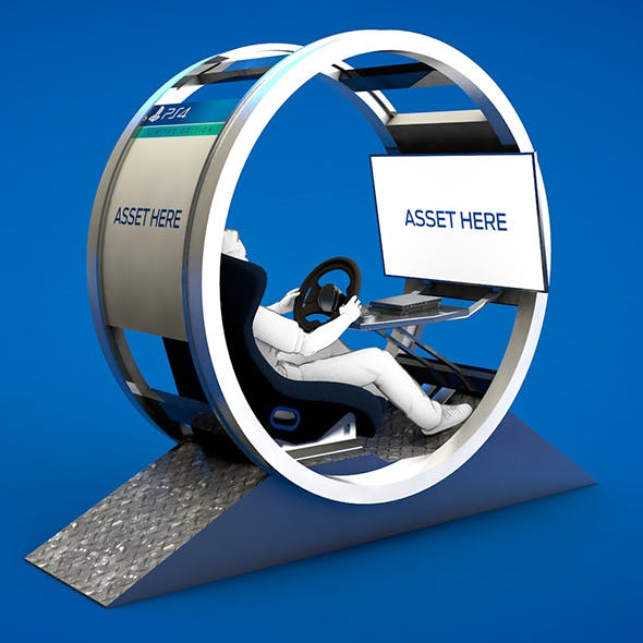 Racing Simulator - Gt Pod