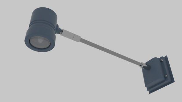 Arm Cylinder Light - 3DOcean Item for Sale